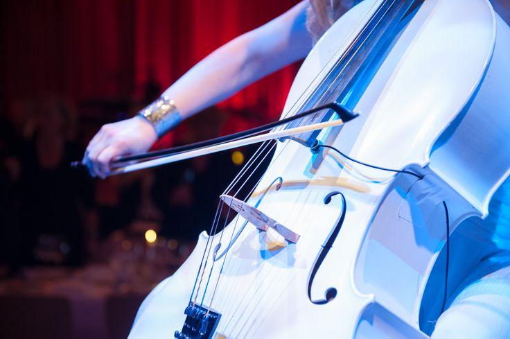 White Cello   Festliche Abendveranstaltung 175 Jahre Erismann-Tapeten