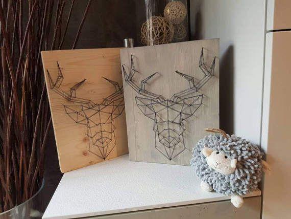 24 best louve cr atrice de string art images on pinterest string art father and pai. Black Bedroom Furniture Sets. Home Design Ideas