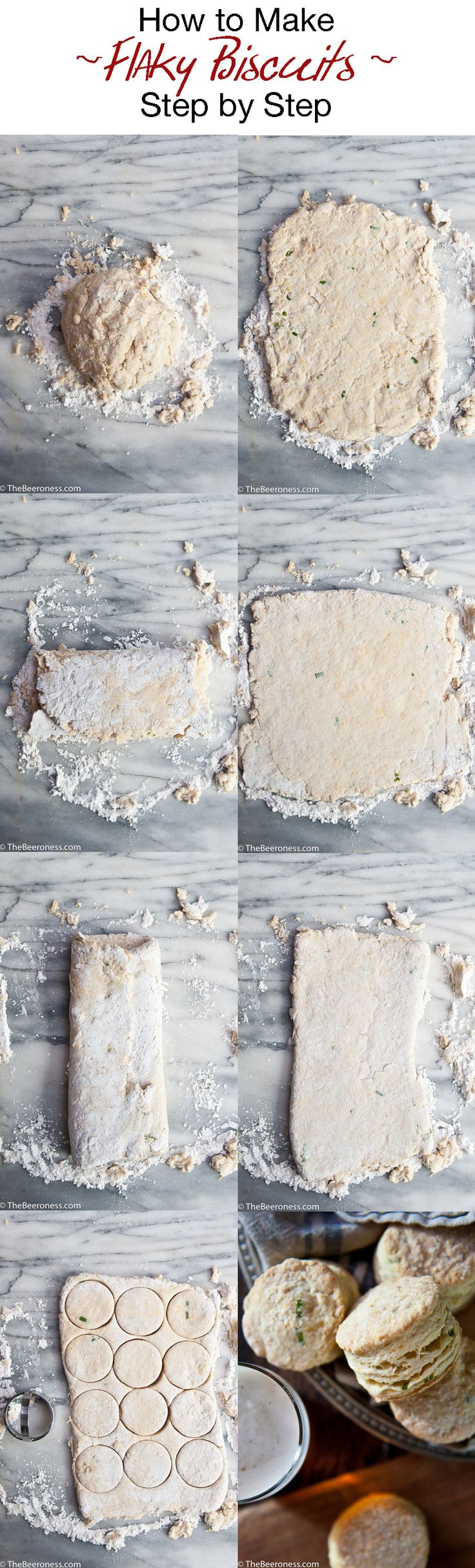 How To Make Flaky Biscuits Step by Step