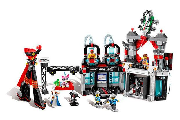 The LEGO® Movie Sets 70809 lord buisness's evil lair