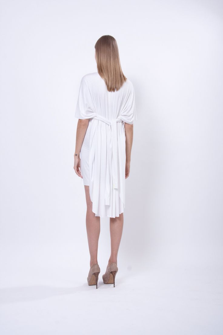 jersey dress 5 in 1, design Lucie Kutálková, LEEDA store