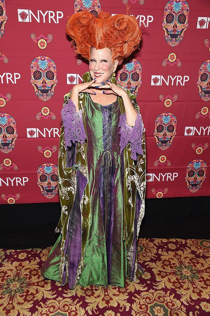 If there ever were a more convincing play for a sequel to the 1993 film Hocus Pocus, Bette Midler made it Friday night. As a part of this year's Halloween weekend, the actress dressed up as Winnie Sanderson in a costume deserving of its own award.