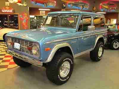 Early Ford Bronco Lifted | Purchase used 1974 Ford Bronco Lifted 4x4 302 Automatic in Lynnwood ...