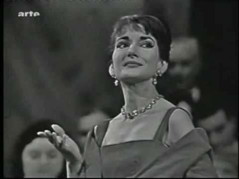 Maria Callas North American Coloratura Lyric Dramtic Soprano Norna Aria Ah bello a me ritorna (It returns to me to so Handsome )- Act I Scene VI Norma Opera Or Lyrics Tragedy By Vincenzo Bellini From Paris Opera 1958