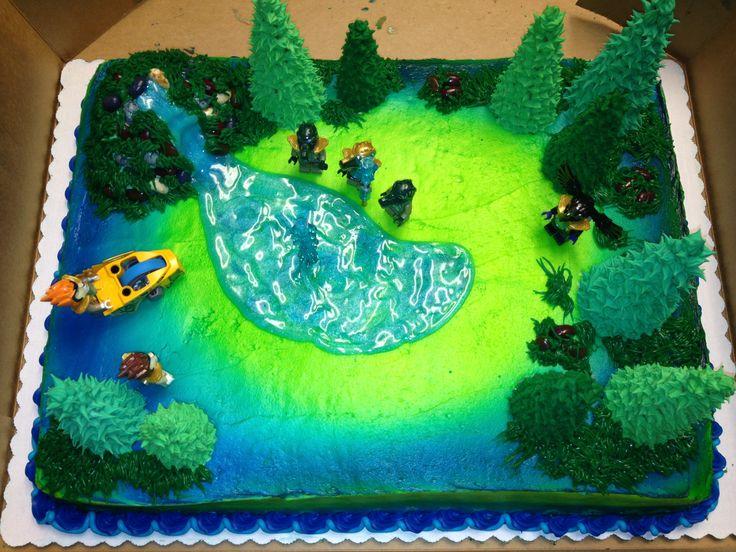 Lego Chima Birthday Cake