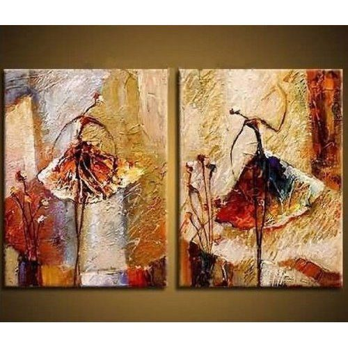 Home Decorations Canvas Painting Art Decor Ballet Concept Office Hand Painted  #HomeDecor