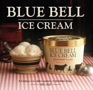 Brenham Texas  home of delicious Blue Bell Ice Cream