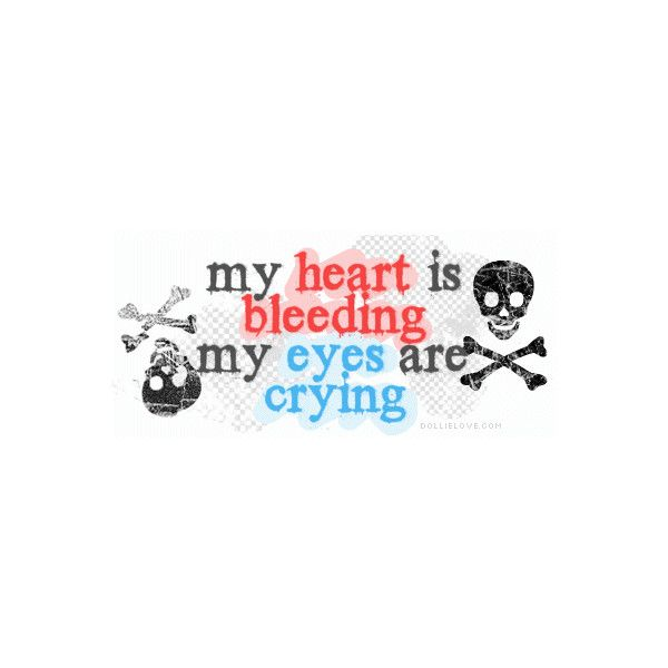 Emo Quotes, Sad Love Quotes, Emo Myspace Quotes, Emo Quote Banners ❤ liked on Polyvore