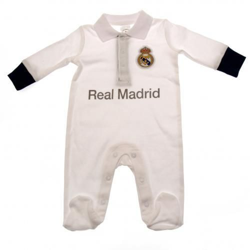 Real Madrid F.C. Sleepsuit 12-18 mths PL – Unique Sports Collectibles Of Europe
