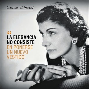 Frase célebre Coco Chanel