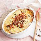 Witlof uit de oven met brie en pancetta