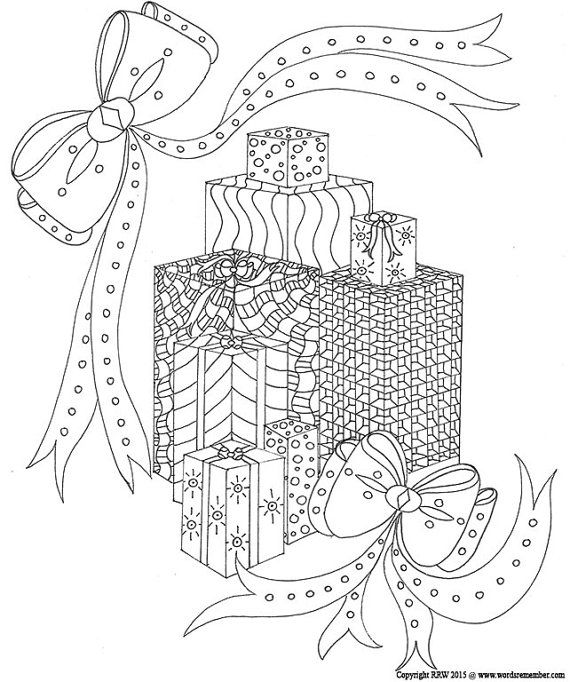 Christmas Colouring Pages For Adults Pdf : Images about adult colouring christmas easter