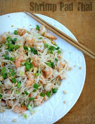 MIH Recipe Blog: Shrimp Pad Thai -syn or omit the peanuts