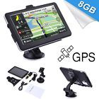 "7"" Touchscreen 8GB Truck Car GPS Nav Navigator SAT NAV System North America Map"