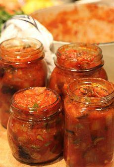 Как приготовить салат с баклажанами и морковью на зиму - Овощи на зиму 1001 ЕДА
