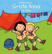 Grote Anna op kamp. Een speels en leerzaam boek over Grote Anna die op kamp gaat met de jeugdbeweging. Een perfecte voorbereiding voor wie op kamp wil. Geschikt voor kleine avonturiers vanaf 5 jaar.