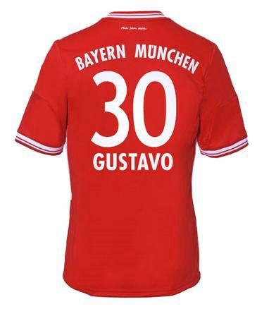Bayern Munich Maillot de foot Domicile 13 14 Adidas Collection 30 Gustavo http://www.theemfstore.com/Nouveau-Bayern-Munich-Maillot-de-foot-Domicile-13-14-Adidas-Collection-30-Gustavo-assurance-de-la-qualit%C3%A9-p-1331.html