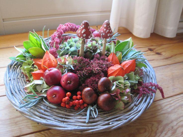 Herfst tafelstuk