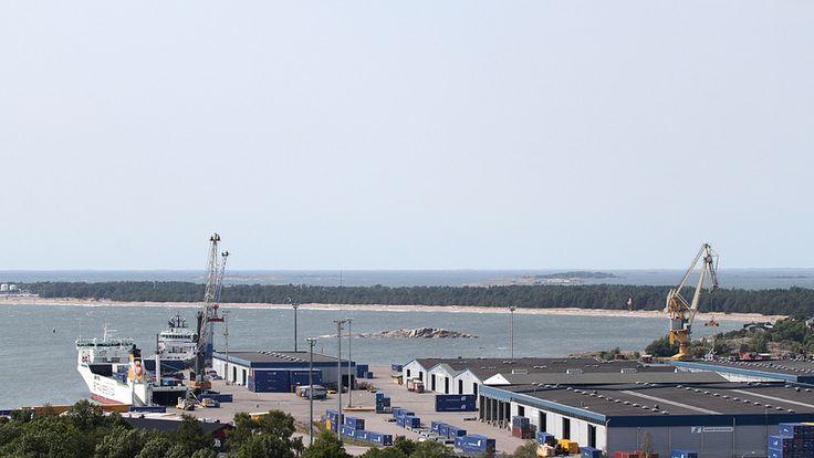 Hangon satama #Hanko #Finland