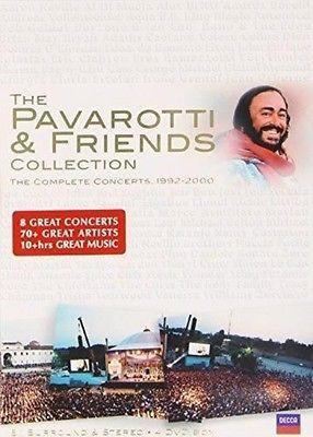 Pavarotti: The Pavarotti and Friends Collection - DVD Region 2
