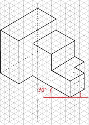 73 best drawings - technology images on Pinterest Technical - isometric graph paper