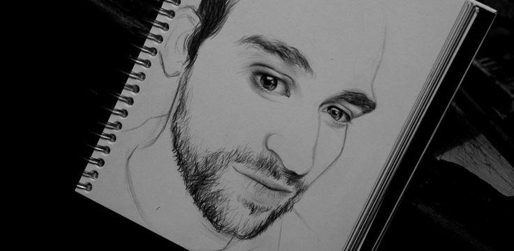 Drawing people - man - men  María José Artgumedo | Art Illustration  https://www.facebook.com/mariajoseartgumedo