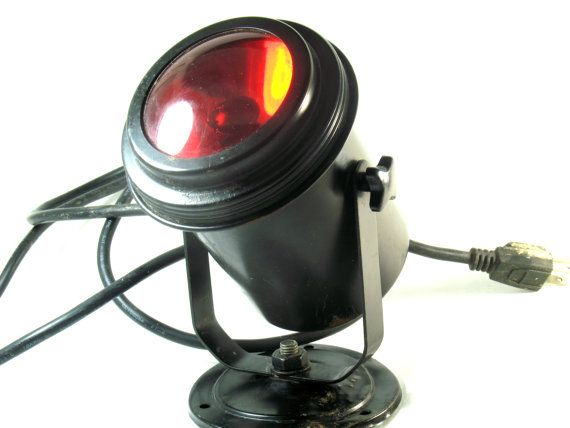 Vintage Special Effects Light, Spotlight, Stage Lighting, Halloween, Parties, Mood Therapy, Haunted House, Plays, Theater