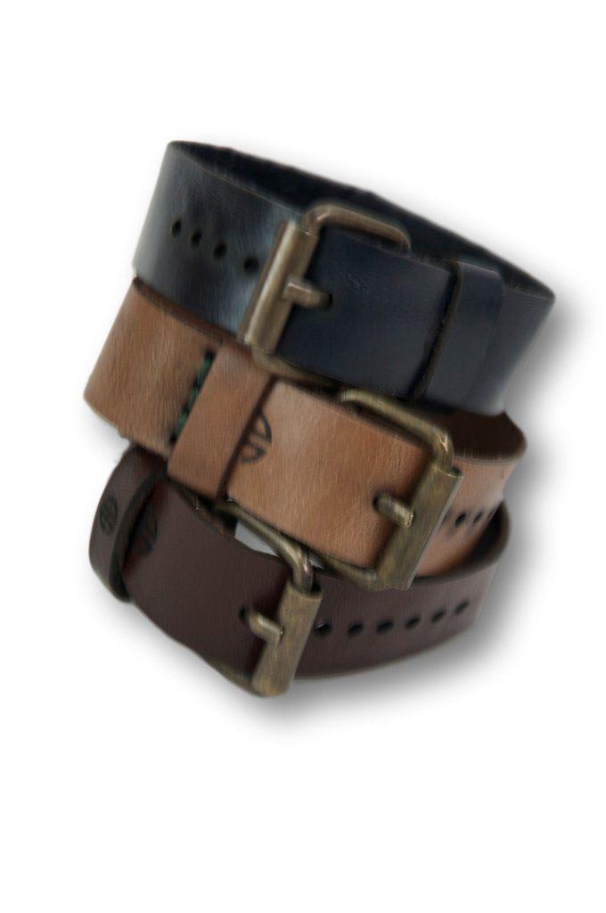 Set of 3, Leather Buckle Bracelet, 0 Leather Wristband, Buckle Wristband, Narrow Cuff Bracelets, Adjustable Belt Buckle