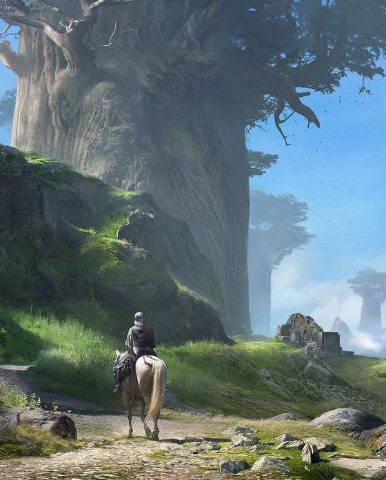 Giant Trees by Jorry Rosman