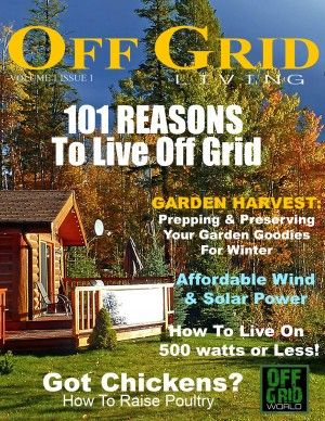 Off Grid Living: All about living off the grid, sustainable living, homesteading, prepping, survival, solar power, wind power, renewable energy, permaculture, hydroponics, recycling, DIY projects, and natural building. Basically all topics related to helping clean up the Earth and sustainable living.