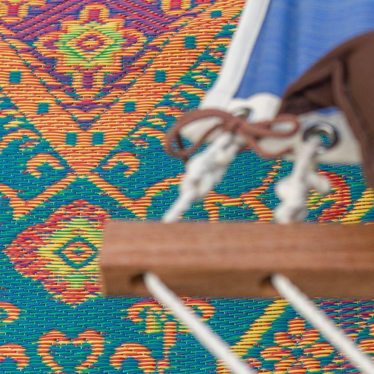Oriental Turkish Aqua Outdoor Mat
