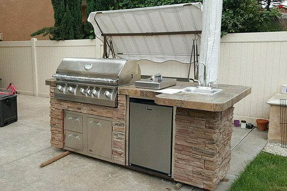 Diy Bbq Gas Gills And Outdoor Kitchen Frame Kits Outdoor
