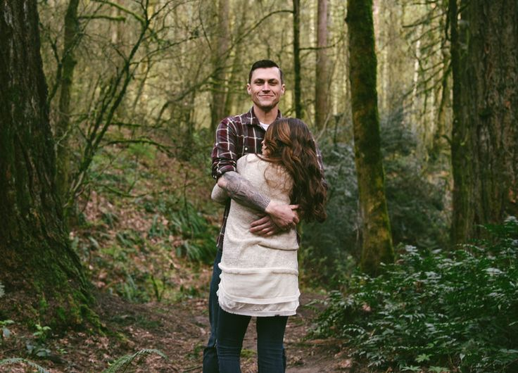 Ali Bonomo Photography// Oregon Engagement / Portland, OR / Forest Park / Engagement Photography