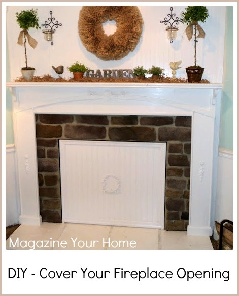 53 best Blocked Fireplace images on Pinterest | Fireplaces ...