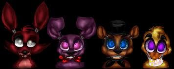 Image result for all five night at freddy's characters drawings