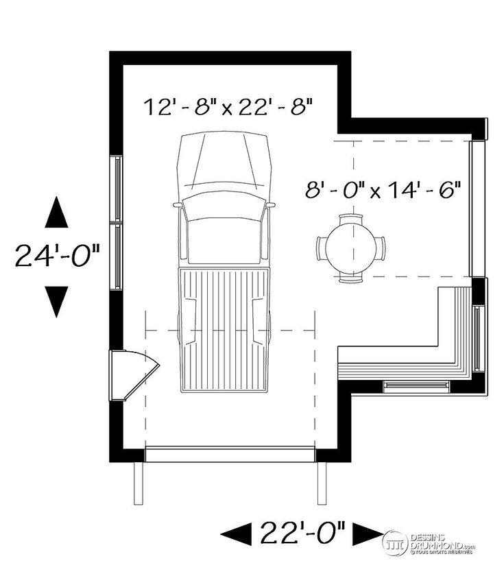 Détail Du Plan De Garage W3994