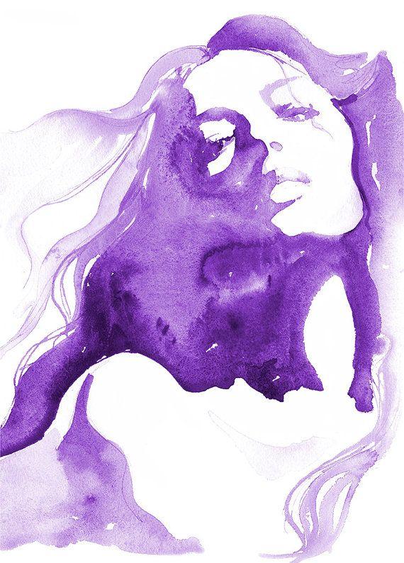 Fashion Watercolor Print, watercolour fashion Illustration, Fashion sketch, Fashion Wall Art, Fashion Print, Fashion Poster, cate Parr – Huiiiiii