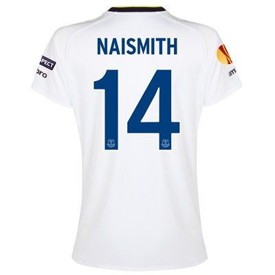 Everton UEFA Europa League 3rd Shirt 2014/15 - Womens with Naismith 14: with Naismith 14 printing #EvertonStore #EvertonShop #EvertonFC
