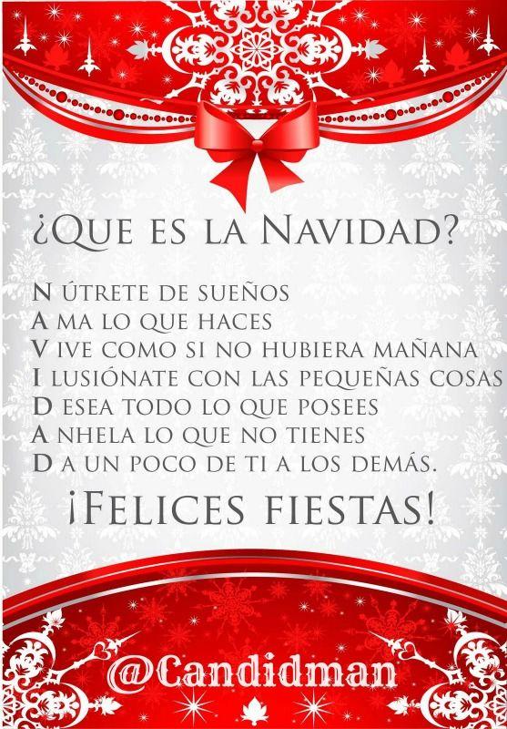 ¿Qué es la #Navidad? @candidman #Frases #Navidad