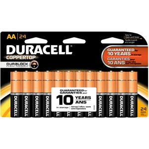 Duracell Coppertop AA Batteries, 24 Count
