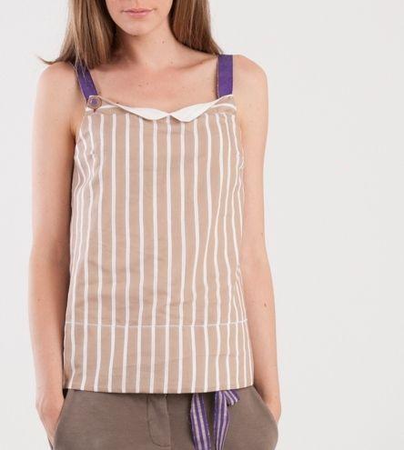 Momoé Summer Top... Blouse...Stripes... s-s 2014