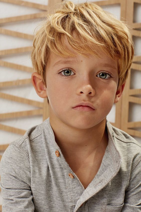 Trendy and Cool Haircuts for Boys #Hairstyles #Slight #Long Hair #Blond #Elegant