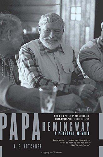 Papa Hemingway: A Personal Memoir by A. E. Hotchner http://www.amazon.com/dp/0306814277/ref=cm_sw_r_pi_dp_h6raub0N95BMD