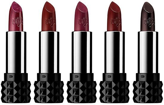 Kat Von D Studded Kiss Lipstick for Fall 2014 — Wolvesmouth, Prayer, Bauhau5, Vampira, Homegirl