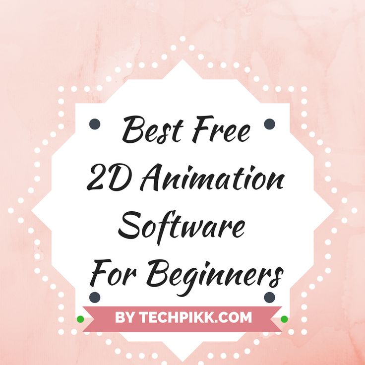 Checkout list of best free 2D animation software for beginners.These free animation software or tools shall guide you to become really good animators.