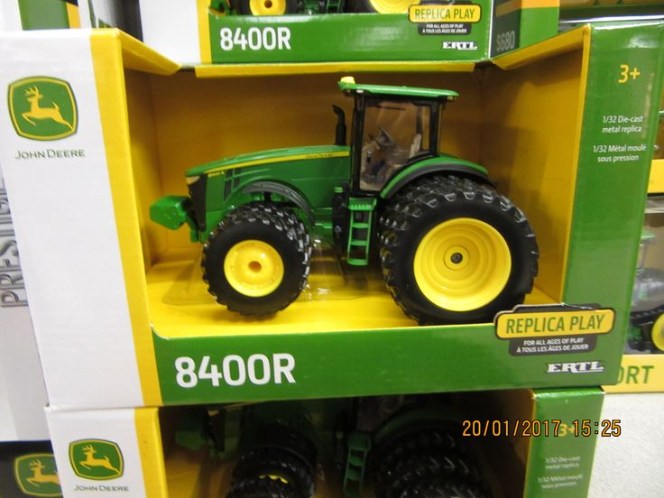 Brought this 1/32nd John Deere 8400R home