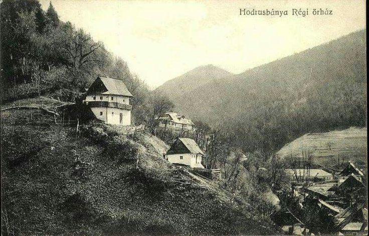 Banska Hodrusa 1907, strazny domcek