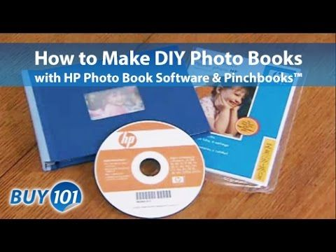 How to make an Photobook with HP Photo Creations Software & Pinchbooks™ - YouTube