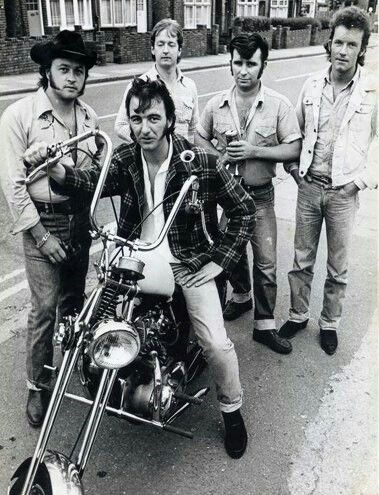 Crazy Cavan & The Rhythm Rockers, #legendary #rockabilly-band from the late 70's.