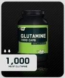 Optimum Nutrition Glutamine 1000mg, 240 Capsules Sale Price: $17.45